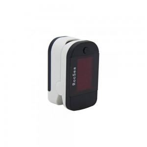 Пульсоксиметр на палец Manchang с LED дисплеем 2-в-1